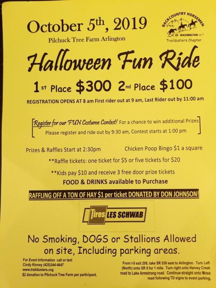Halloween Fun Ride @ Pilchuck Tree Farm - Armstrong Entrance | Washington | United States