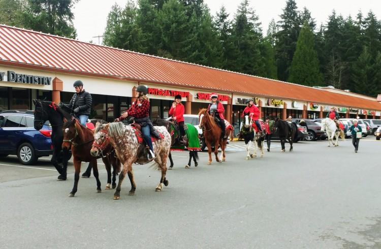 Caroling on Horseback @ Lake Washington Saddle Club Trail & Obstacle   Kirkland   Washington   United States