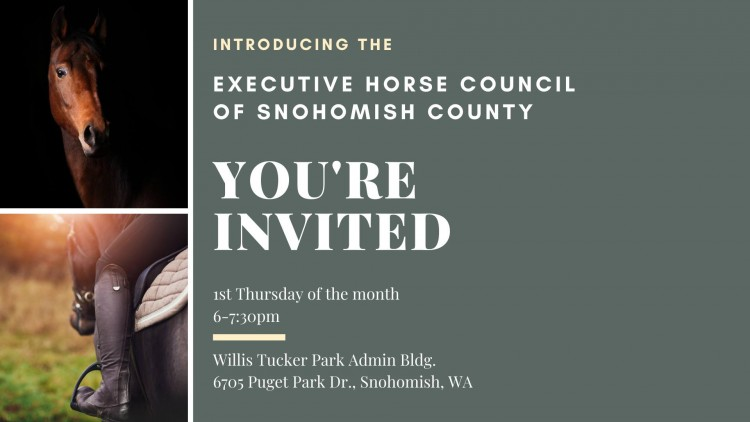 Executive Horse Council of Snohomish County @ Willis Tucker Park Admin Building | Snohomish | Washington | United States