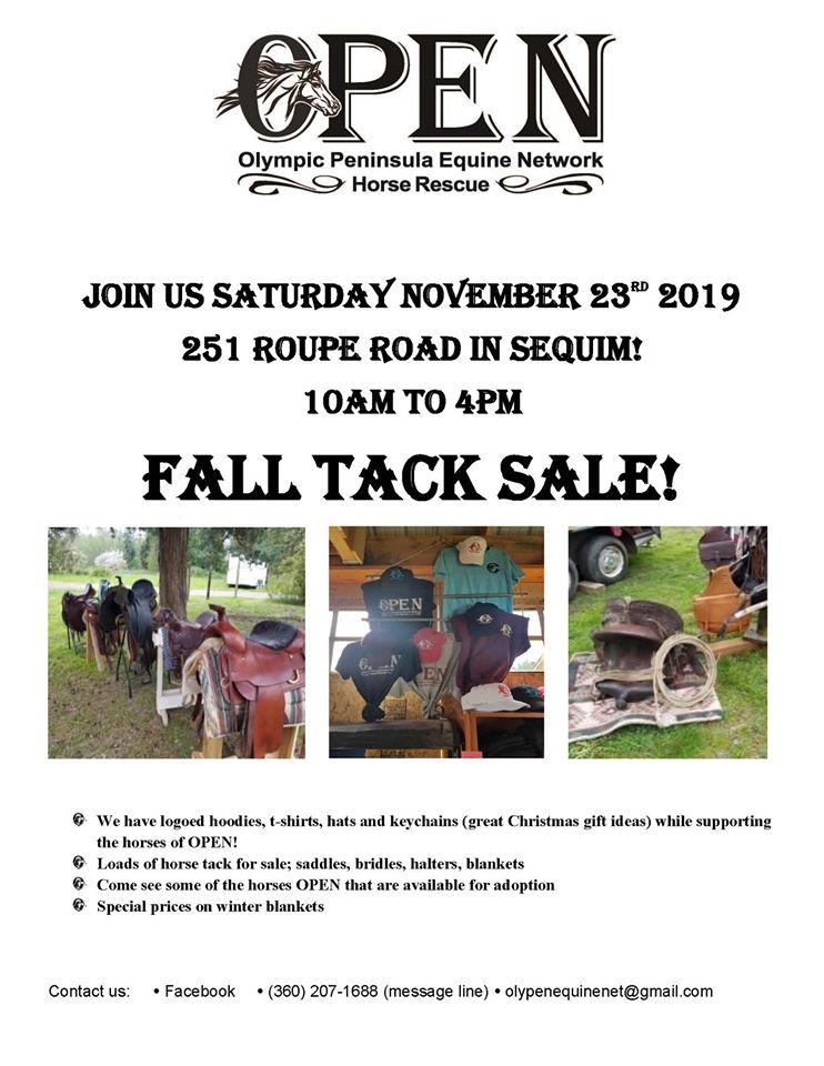 Fall Tack Sale @ Sequim | Washington | United States