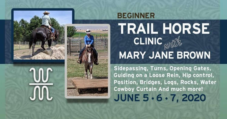 MJB Beginner Trail Clinic @ W Bar M Ranch, LLC | Washington | United States