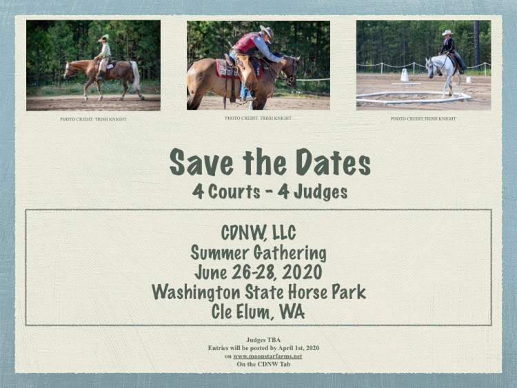 CDNW Summer Gathering @ Washington State Horse Park | Cle Elum | Washington | United States