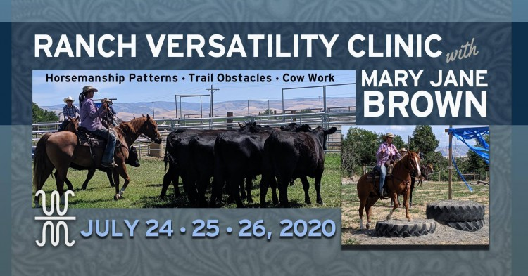 MJB Ranch Versatility Clinic @ https://wbarmranch.com | Washington | United States