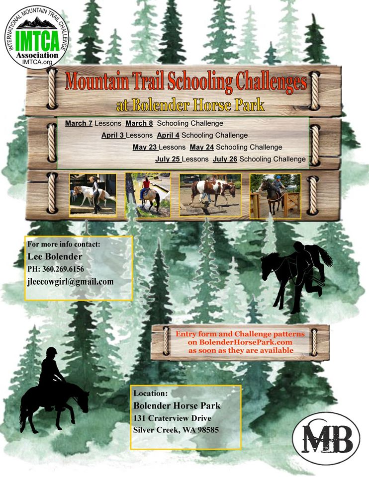 Mountain Trail Schooling Challenges @ Bolender Horse Park | Silver Creek | Washington | United States