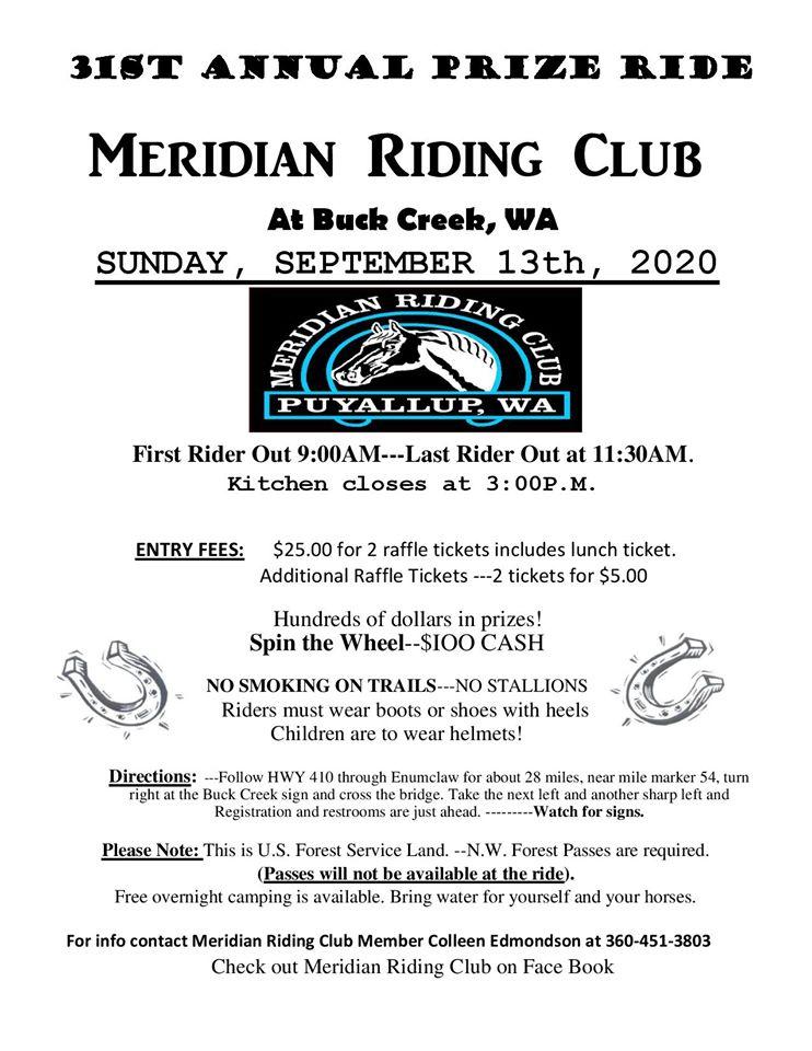 Prize Ride @ Ranger Creek State Airport/ Buck Creek | Washington | United States