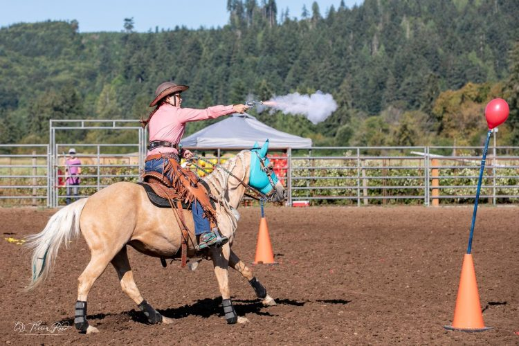 Mounted Shooting 101 - New Shooter Clinic @ Flying M Stables | Olympia | Washington | United States