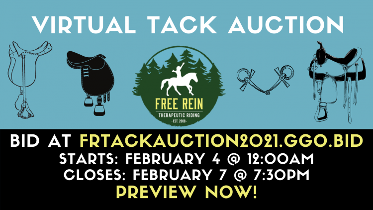 Virtual Tack Auction @ On-line!